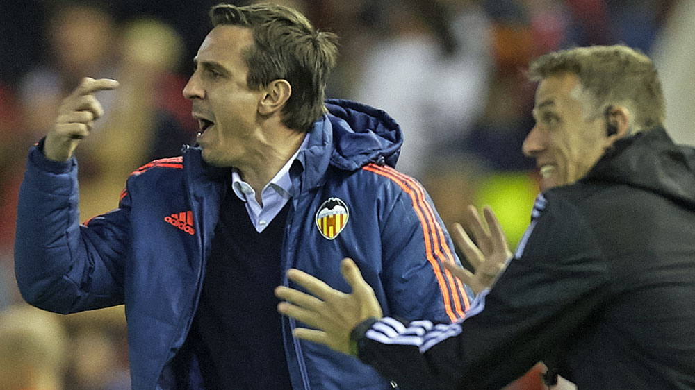 Gary Neville. (Getty-file)