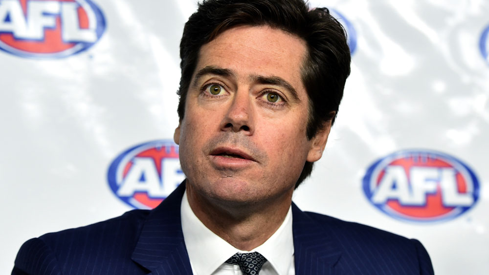 Gillon McLachlan happy to discuss heavier bans for coward punches