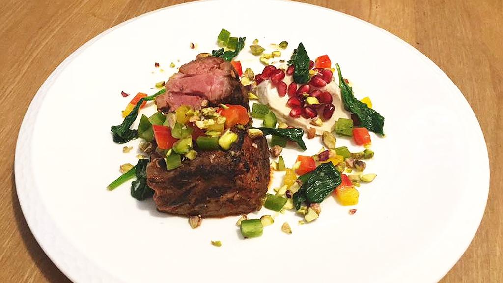 Squid Ink lamb cooked in harrissa (Facebook)