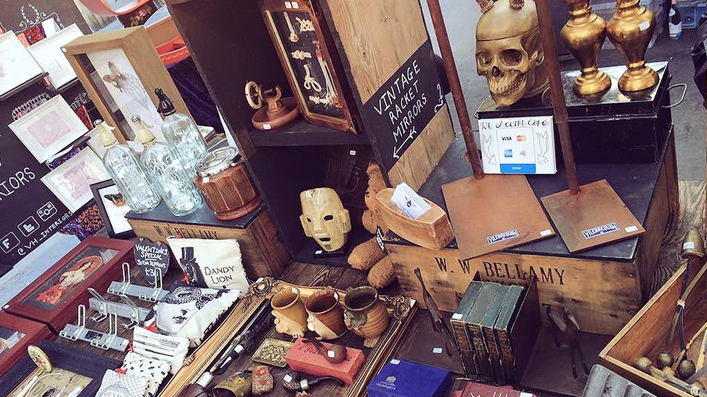 Vintage and second-hand goods at Altrincham Market (Facebook)