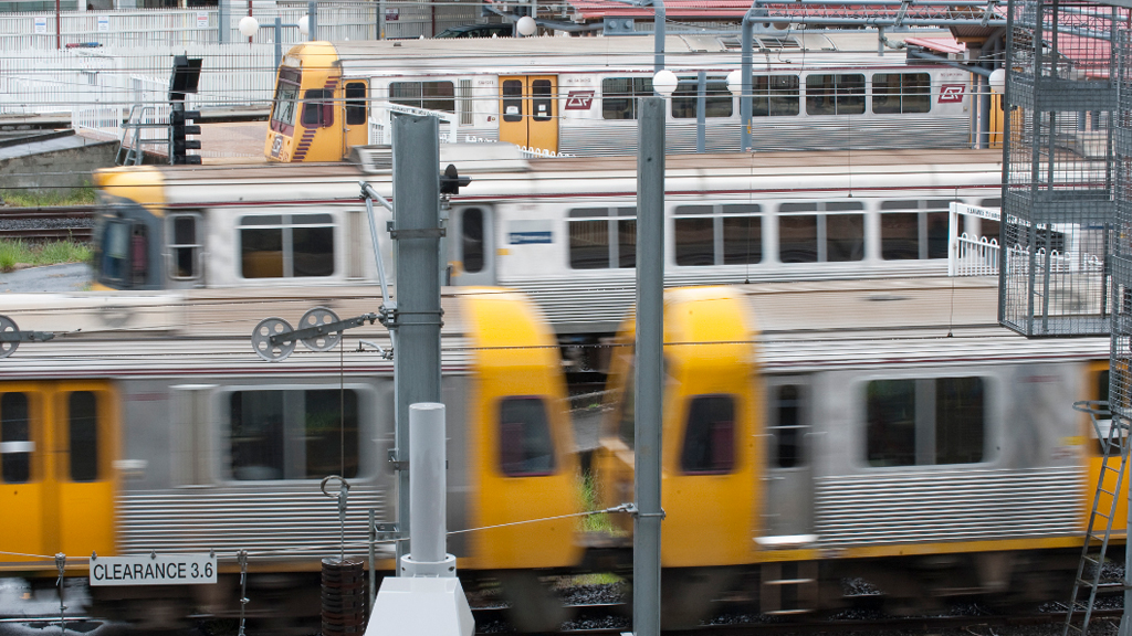 The Cross River Rail project is aimed at alleviating growing pressure on Brisbane's train network. (AAP)