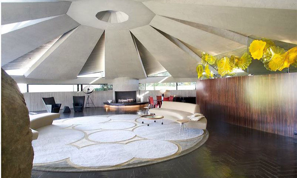 Modern Masterpiece Inside John Lautner 39 S Elrod House In
