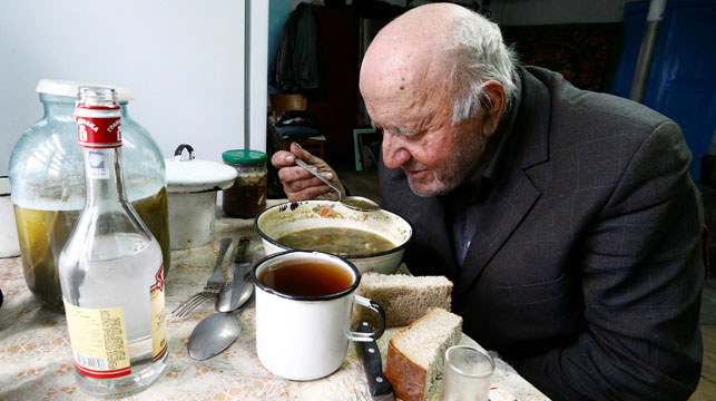 The villager who refused to leave after the Chernobyl nuclear disaster