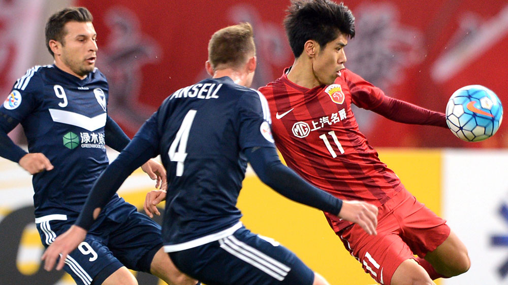 Victory downed in Shanghai ACL showdown