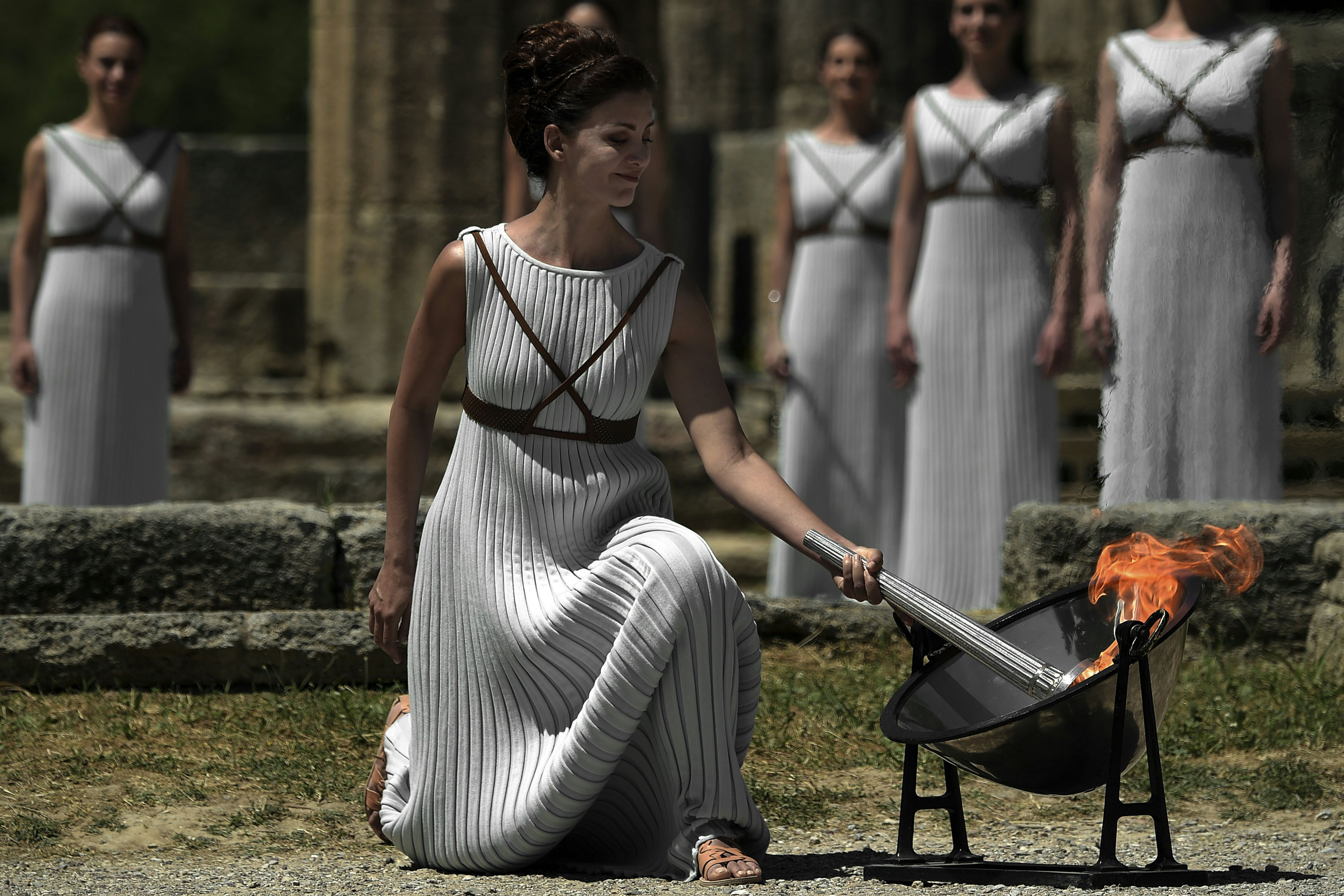 """The flame for South America's first Olympics has been lit at the birthplace of the ancient games in Greece, starting a 15-week journey culminating in the August 5 opening ceremony in Rio de Janeiro.<br style=""""box-sizing: border-box;"""" />"""