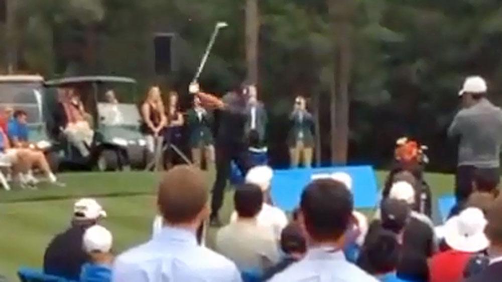 Pain-free Tiger hints at golf comeback