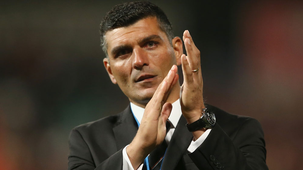 Roar coach John Aloisi has denied he's considering a big money move to Adelaide.