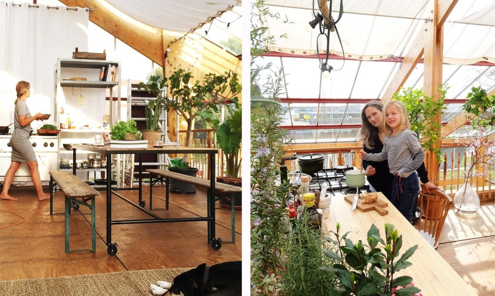 Giant greenhouse in rotterdam doubles as a light filled family home - The greenhouse residence in rotterdam ...