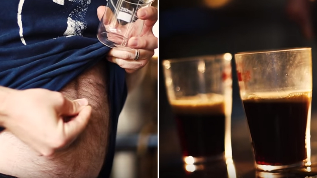 The Belly Button Beer is made using yeast grown from navel fluff. (7 Cent Brewery)