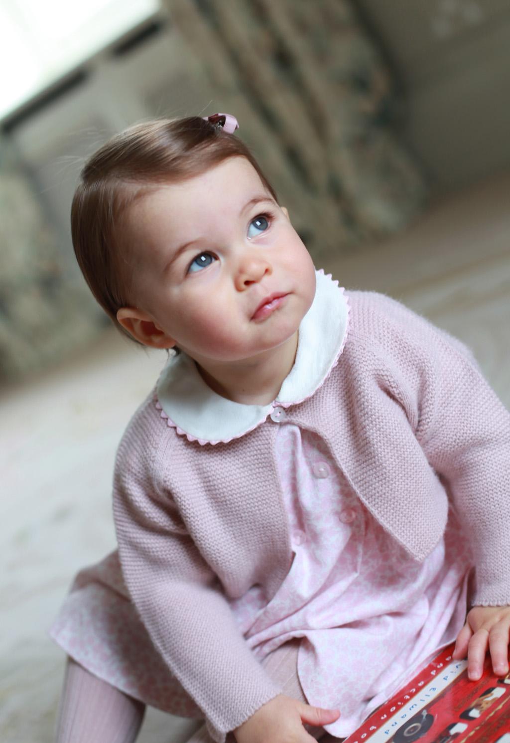 Princess Charlotte turns one tomorrow. (Kensington Palace)