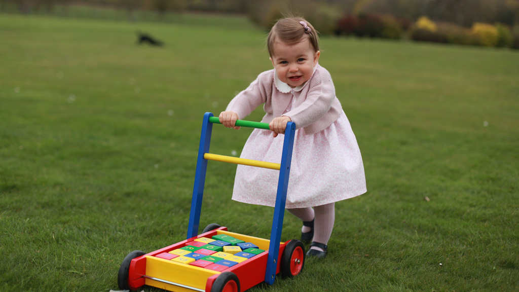The images were taken by her mother Kate. (Kensington Palace)