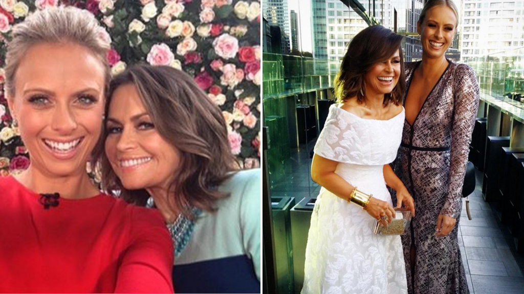 'Great mates': Lisa Wilkinson hits back at rumours of rift between her and Sylvia Jeffreys