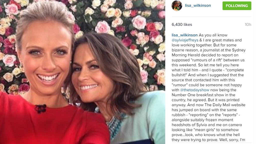 Lisa Wilkinson hit back at rumours with an Instagram post. (Instagram / @Lisa_Wilkinson)