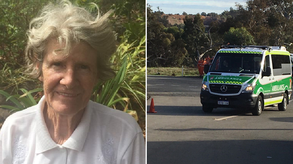 Missing grandmother found after spending two nights lost in bushland south-east of Perth