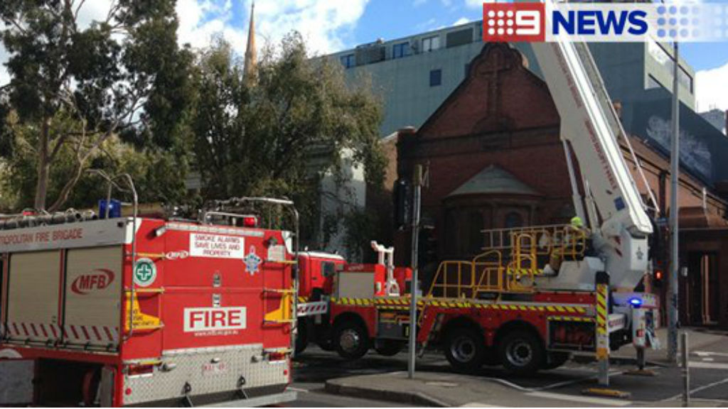 """The Holy Church of """"The Annunciation of Our Lady"""" is Victoria's oldest Greek Orthodox church. (9NEWS)"""