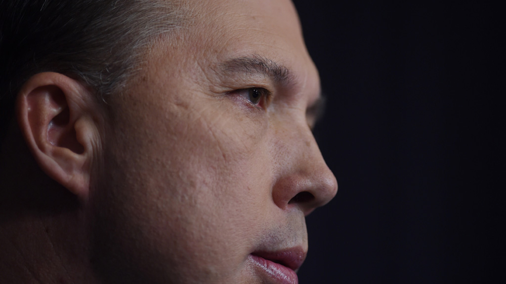 Photo of Peter Dutton his office reportedly asked to be 'removed' becomes an online meme