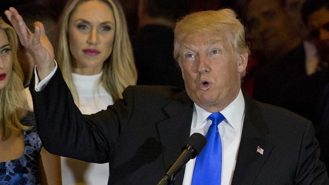 Donald Trump says taxes for wealthy should rise