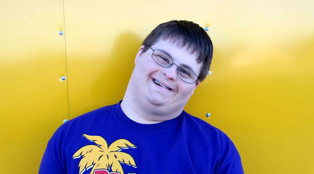 Young man with Down syndrome opens his own business in a bid to inspire others