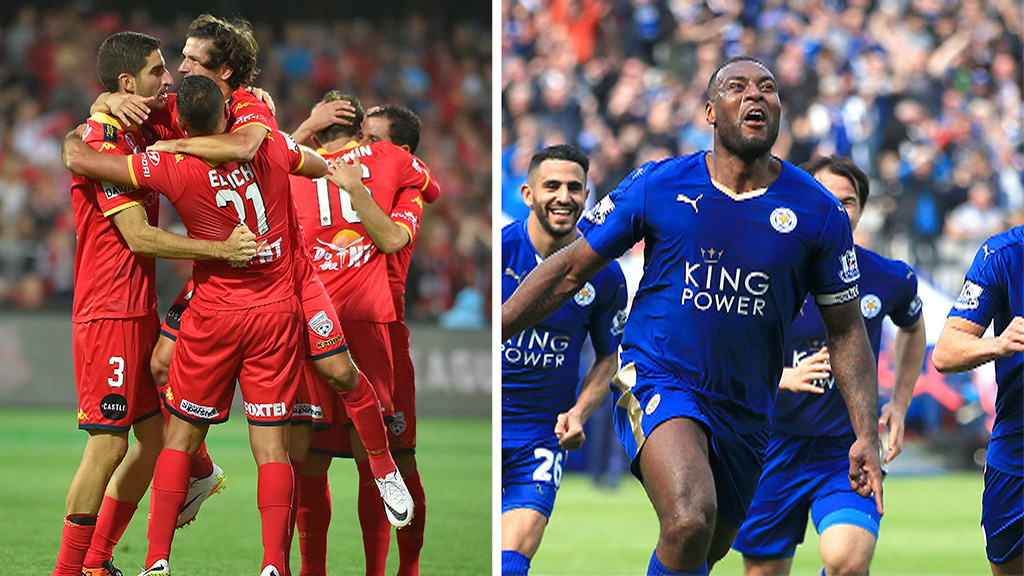 English Premier League champions Leicester City invited to play A-League champions Adelaide United