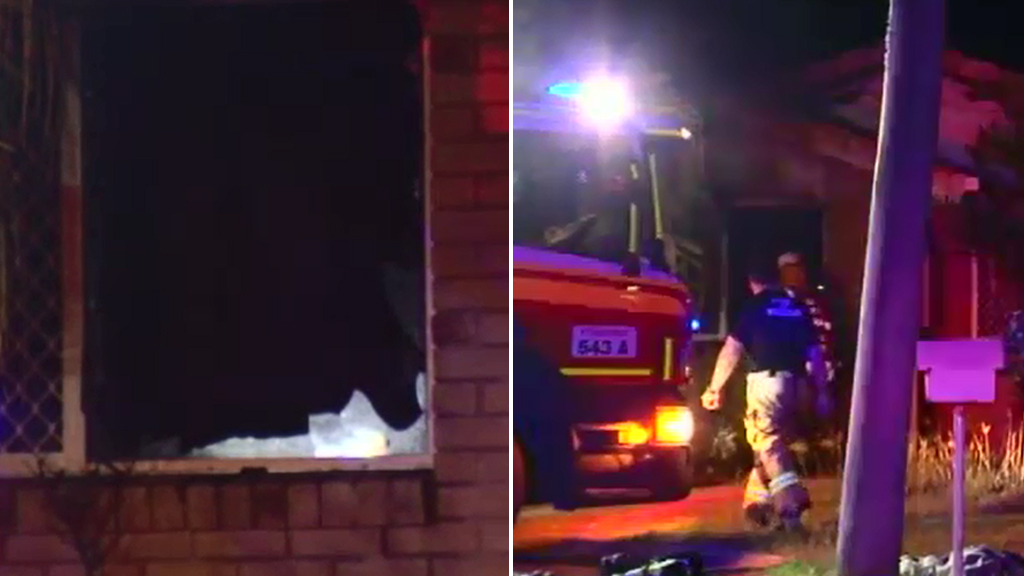 Firefighters were called to the Ipswich home about 2.15am. (9NEWS)