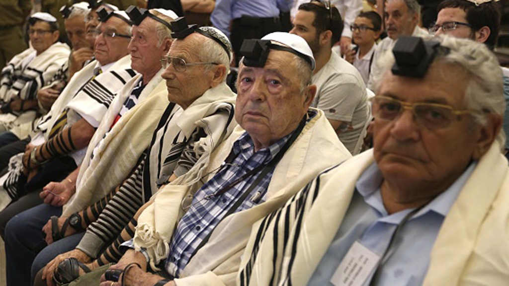 Group of Holocaust survivors have their Bar Mitzvahs, 70 years after WWII