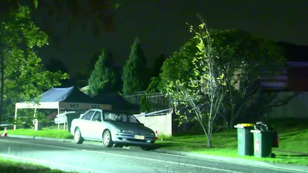 Three men found with gunshot wounds at property in Melbourne's north