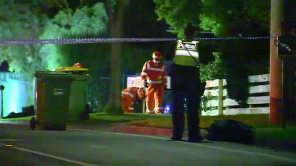 Three men were taken to hospital with non-life threatening injuries. (9NEWS)
