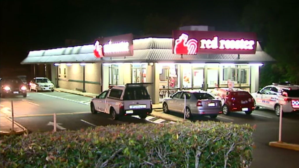 An employee was threatened with a knife during the robbery. (9NEWS)
