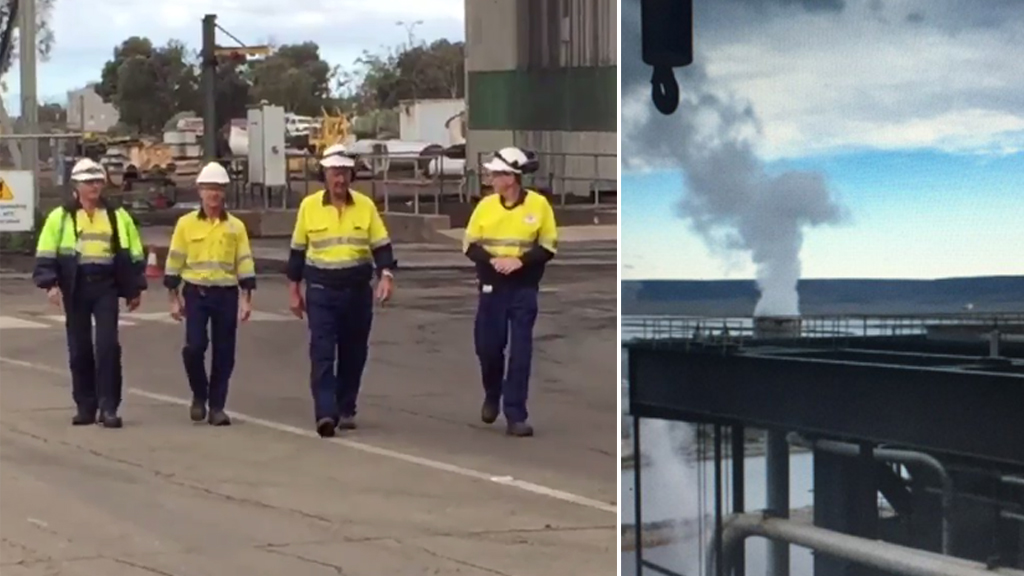 Port Augusta's last coal-fired power station switched off