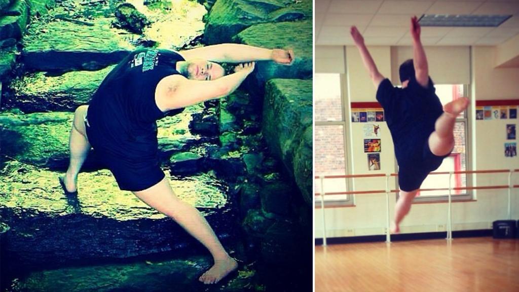 Erik Cavanaugh is a passionate dancer. (Instagram / @erik_cav5493)