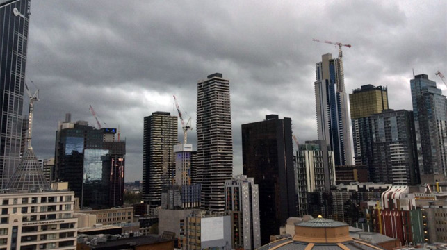 Victoria, South Australia and Tasmania lashed by massive storm cell