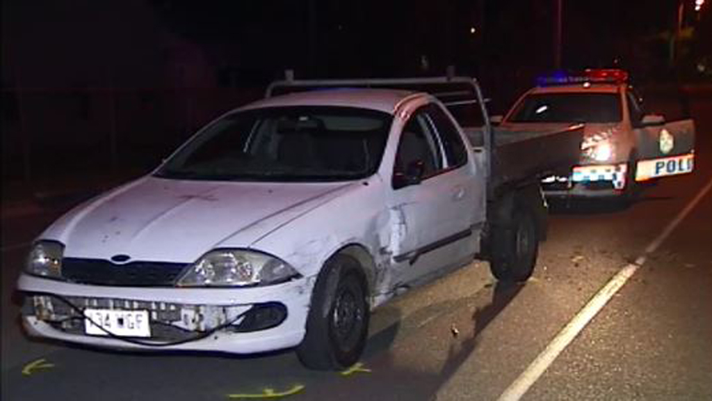 Police understand the incident followed a two-car crash. (9NEWS)