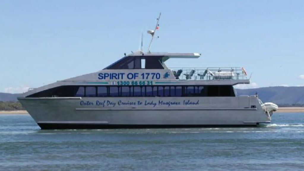 The 'Spirit of 1770'. (File image/supplied)
