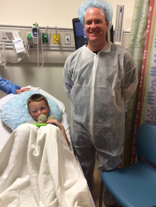 The young boy was diagnosed with an unknown form of metastatic cancer. (GoFundMe)