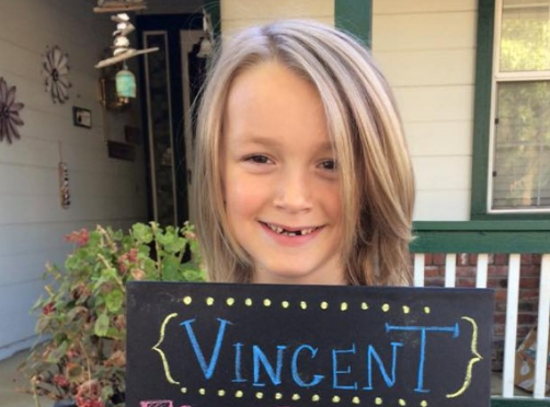 Young boy who donated his hair to cancer patients diagnosed with the disease