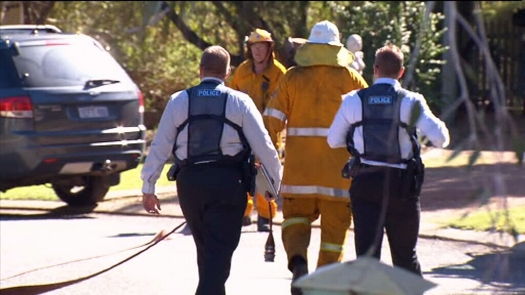 Woman dies after running from burning Perth home with clothes on fire