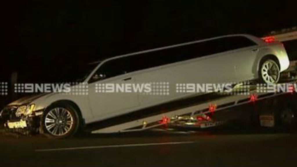 Celebrity poker players' stolen limo recovered in Geelong