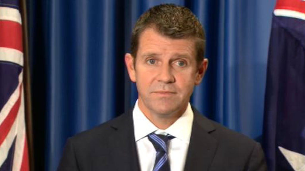 NSW Premier Mike Baird (9NEWS)