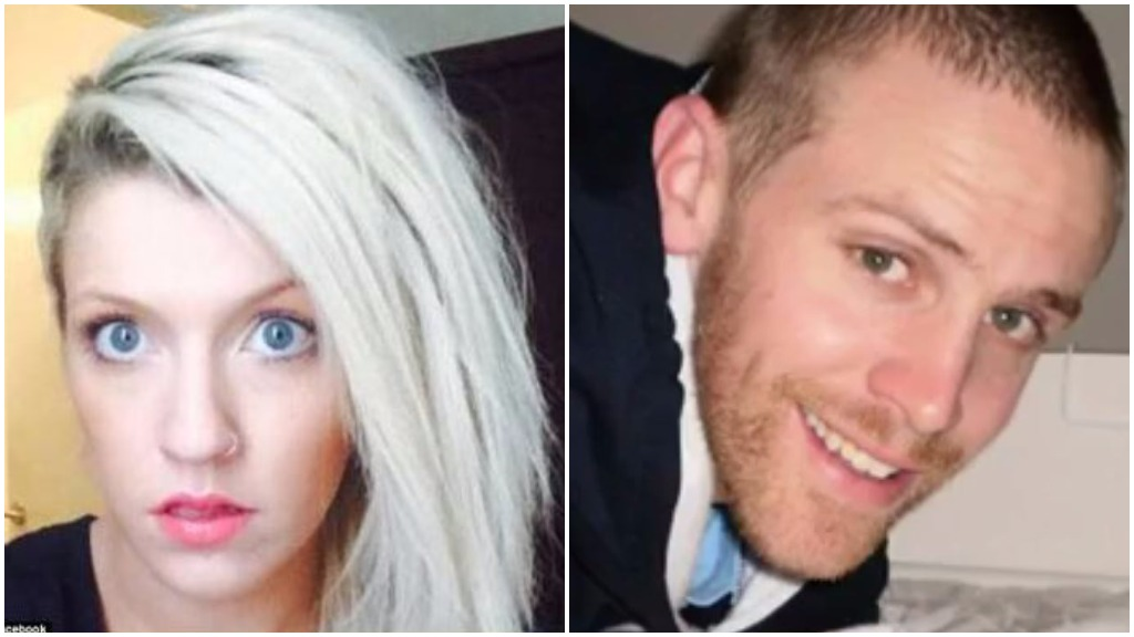Rebekah Stewart (left) has been granted bail over allegedly hitting Christian Ashby (right) while he was riding his bike. (Facebook)