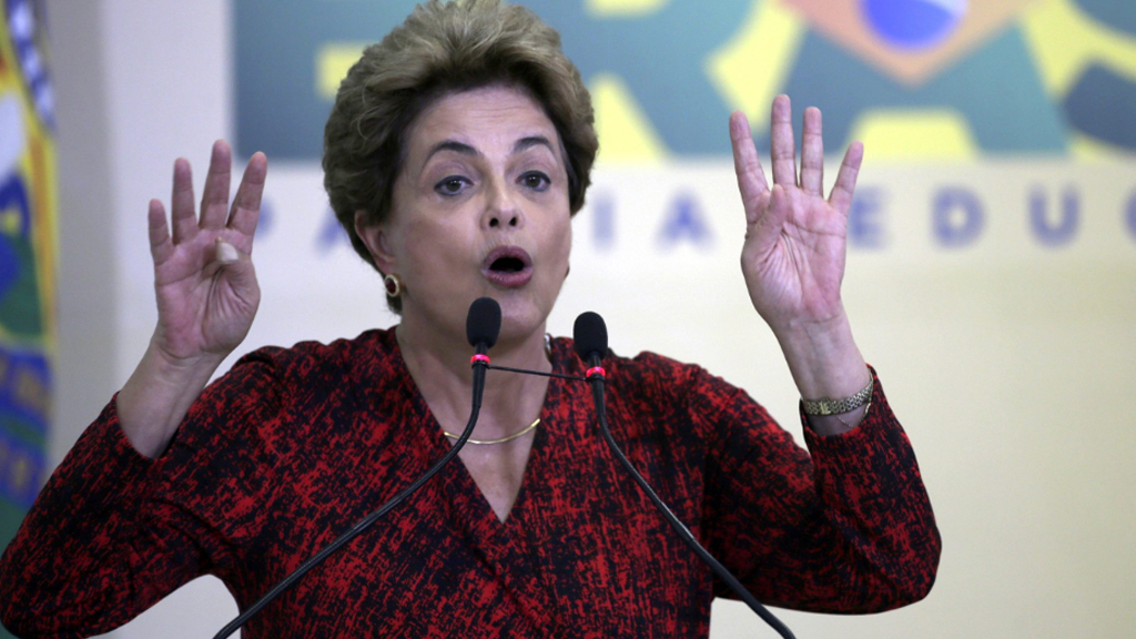 Brazilian President Dilma Rousseff suspended after Senate votes in favour of opening impeachment trial
