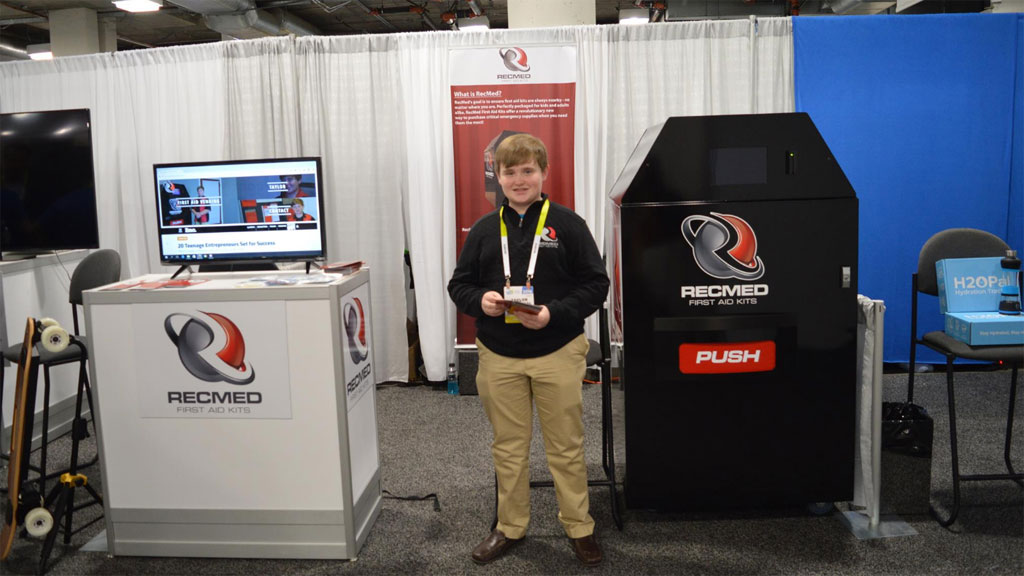 Teen entrepreneur turns down $41m for game-changing first-aid vending machine invention