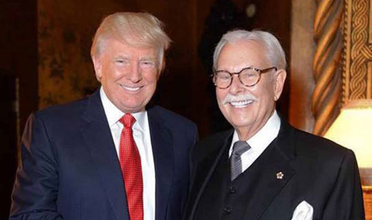 Trump's former butler lashes out at Obama