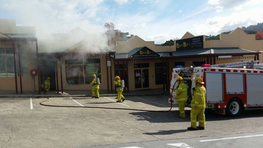 Woman taken to hospital after fire at a massage parlour in Melbourne's east