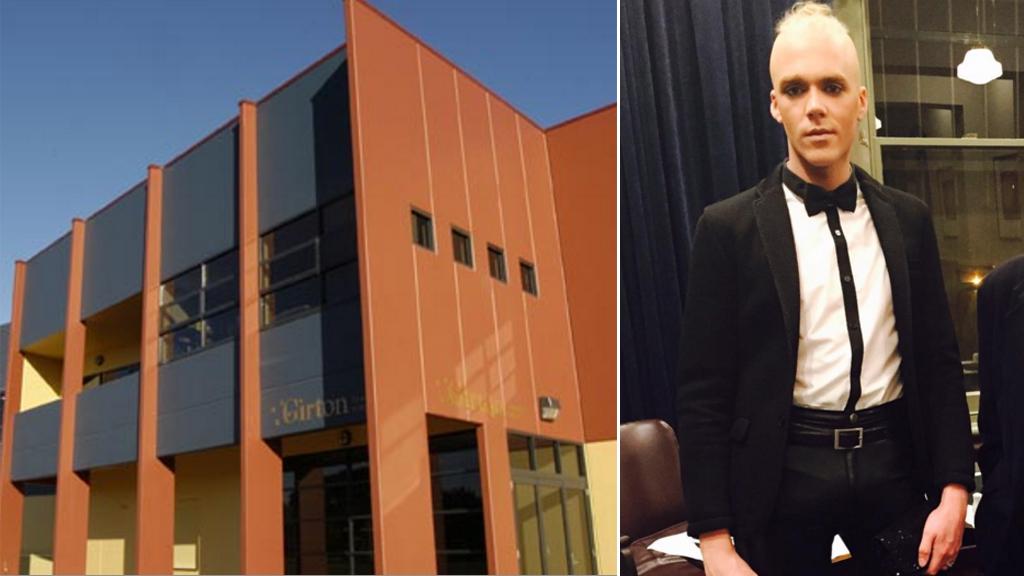 Former Bendigo school captain shunned for wearing 'inappropriate attire' to Girton Grammar event