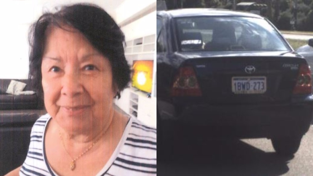 Fear grows for elderly woman missing from Perth's north