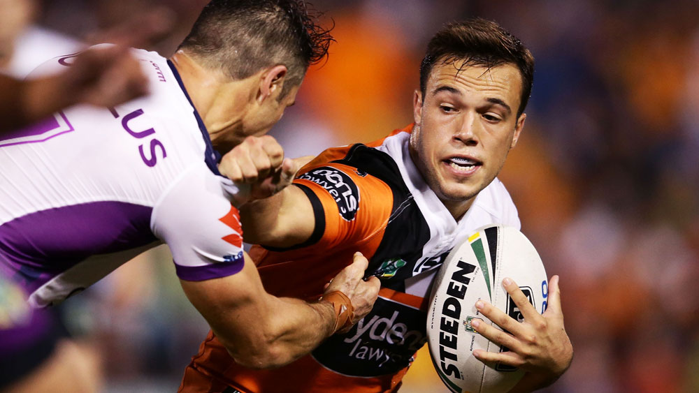 Luke Brooks re-signs with Wests Tigers