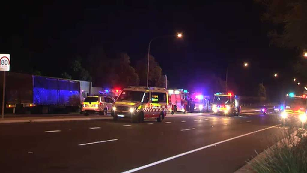 Northbound traffic on New Illawarra Road is being diverted. (9NEWS)