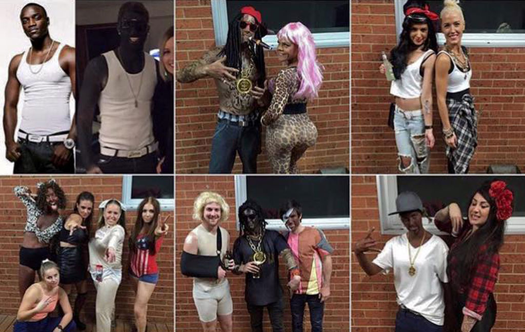 Victorian football club slammed for posting blackface photos to social media