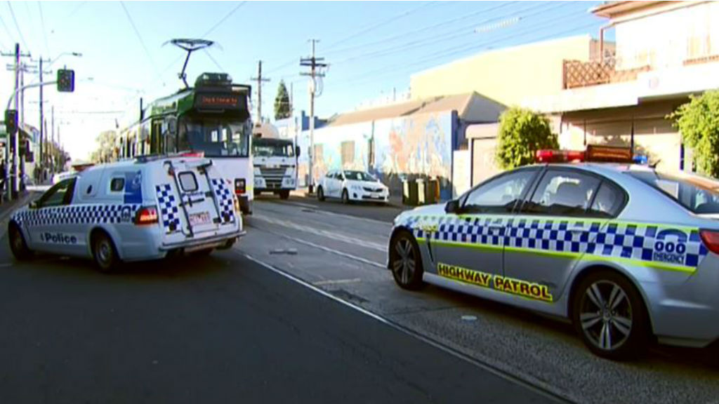 Tram driver dies after being hit by garbage truck in Melbourne's north