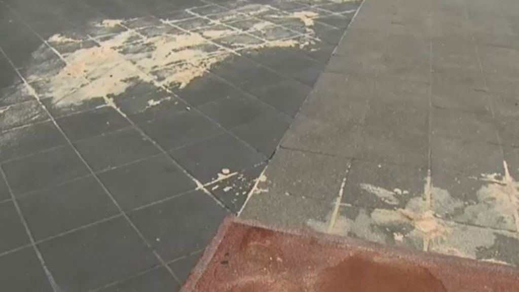 The area where the woman was performing. (9NEWS)